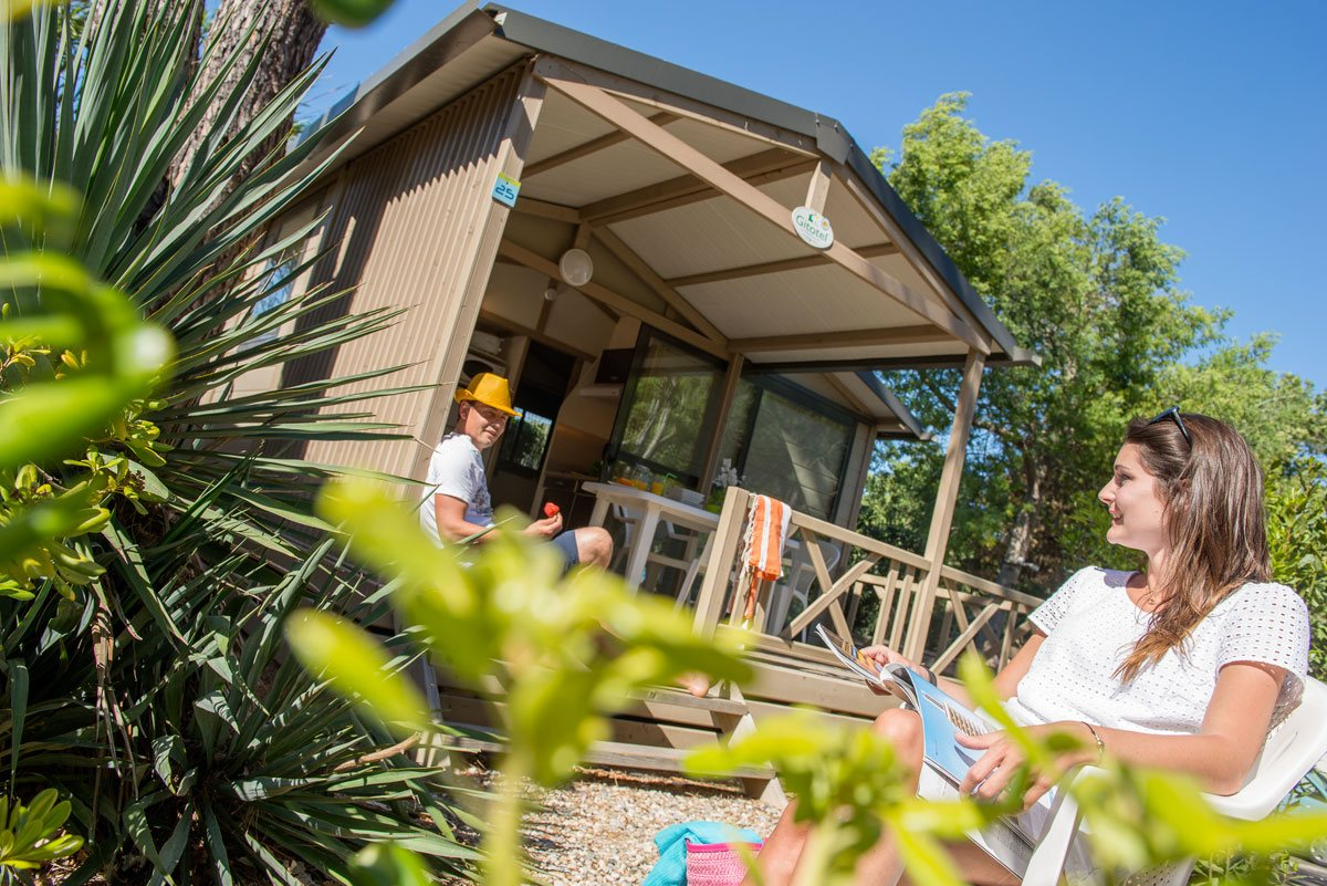 Camping Ramatuelle Cap Taillat - Chalet Némo