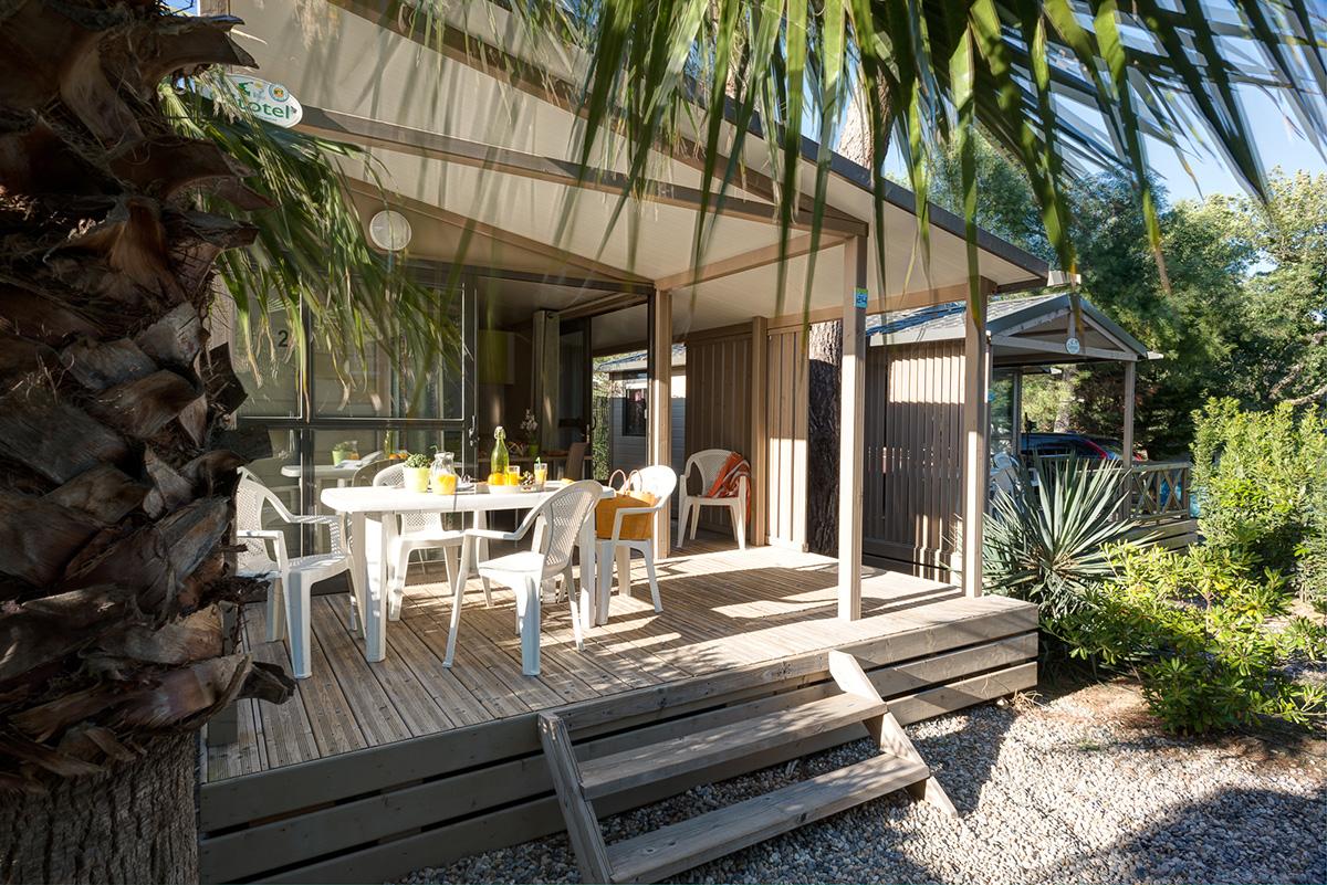 Camping Ramatuelle Cap Taillat - Chalet Moréa
