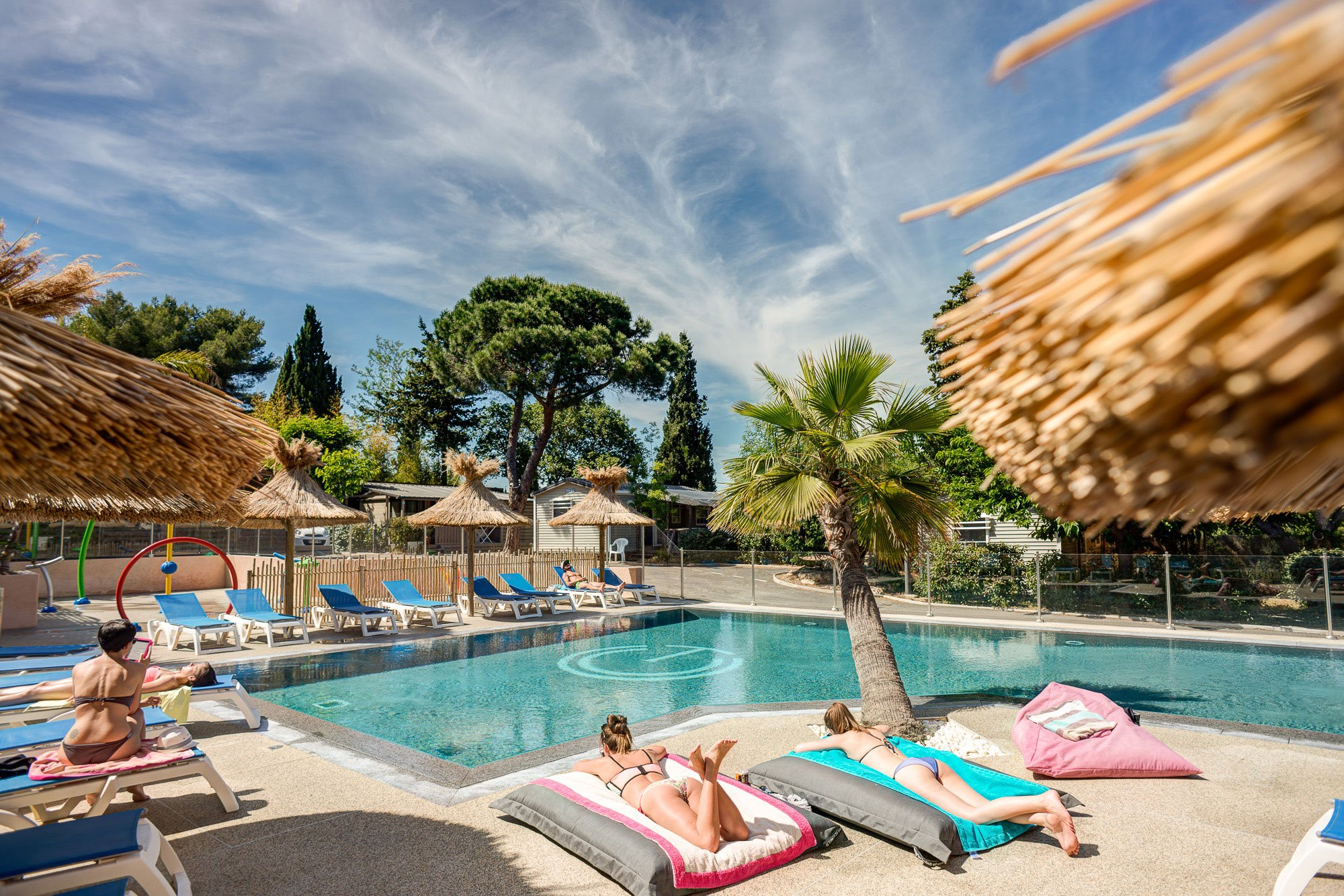 Camping ramatuelle avec piscine le cap taillat 4 for Camping piscine var