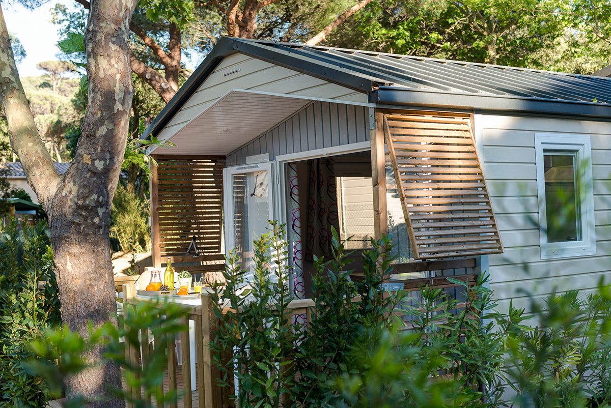 Camping Ramatuelle Cap Taillat - Cottage Corsair