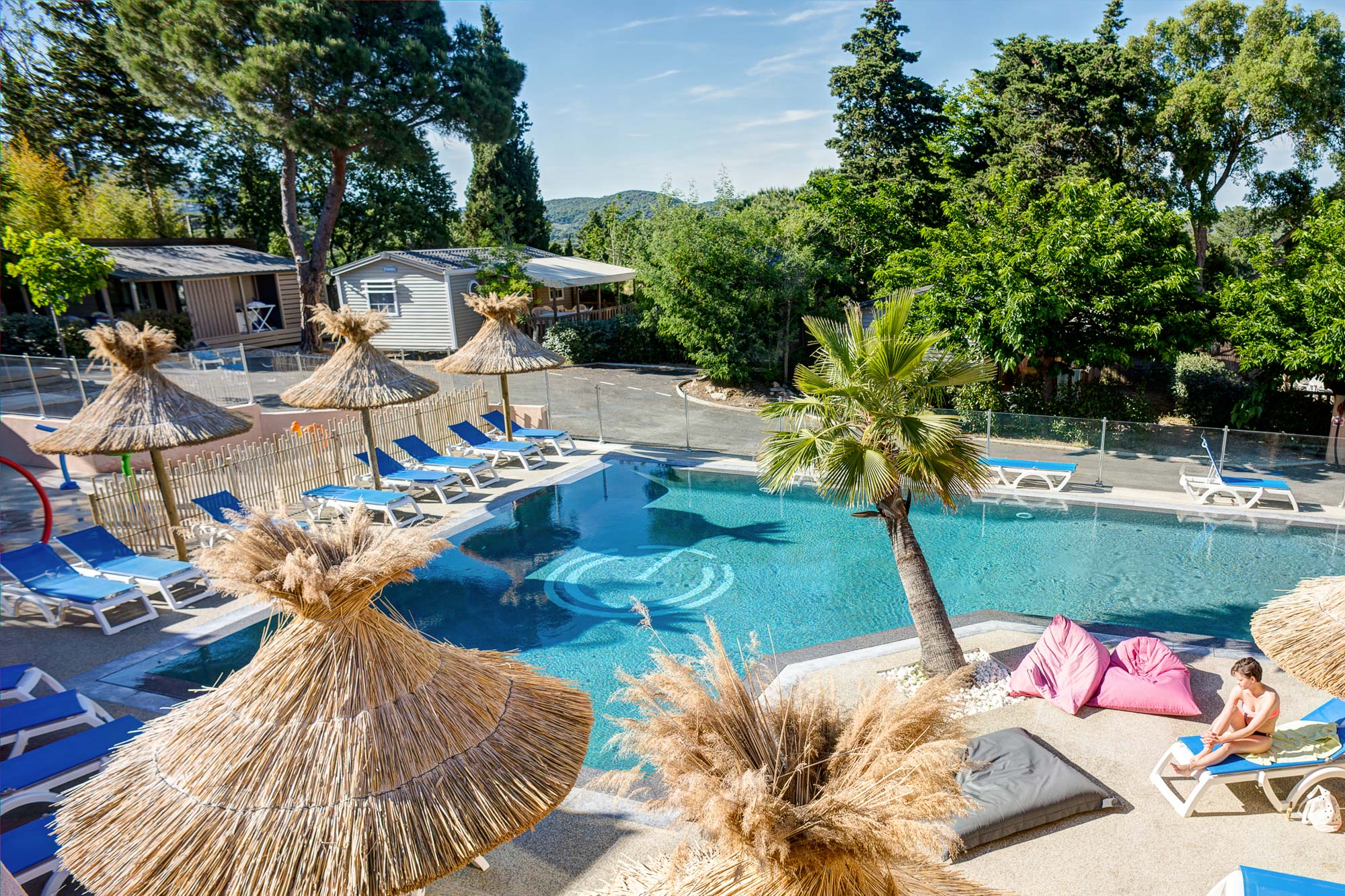 Camping ramatuelle cap taillat 4 toiles saint tropez for Camping piscine