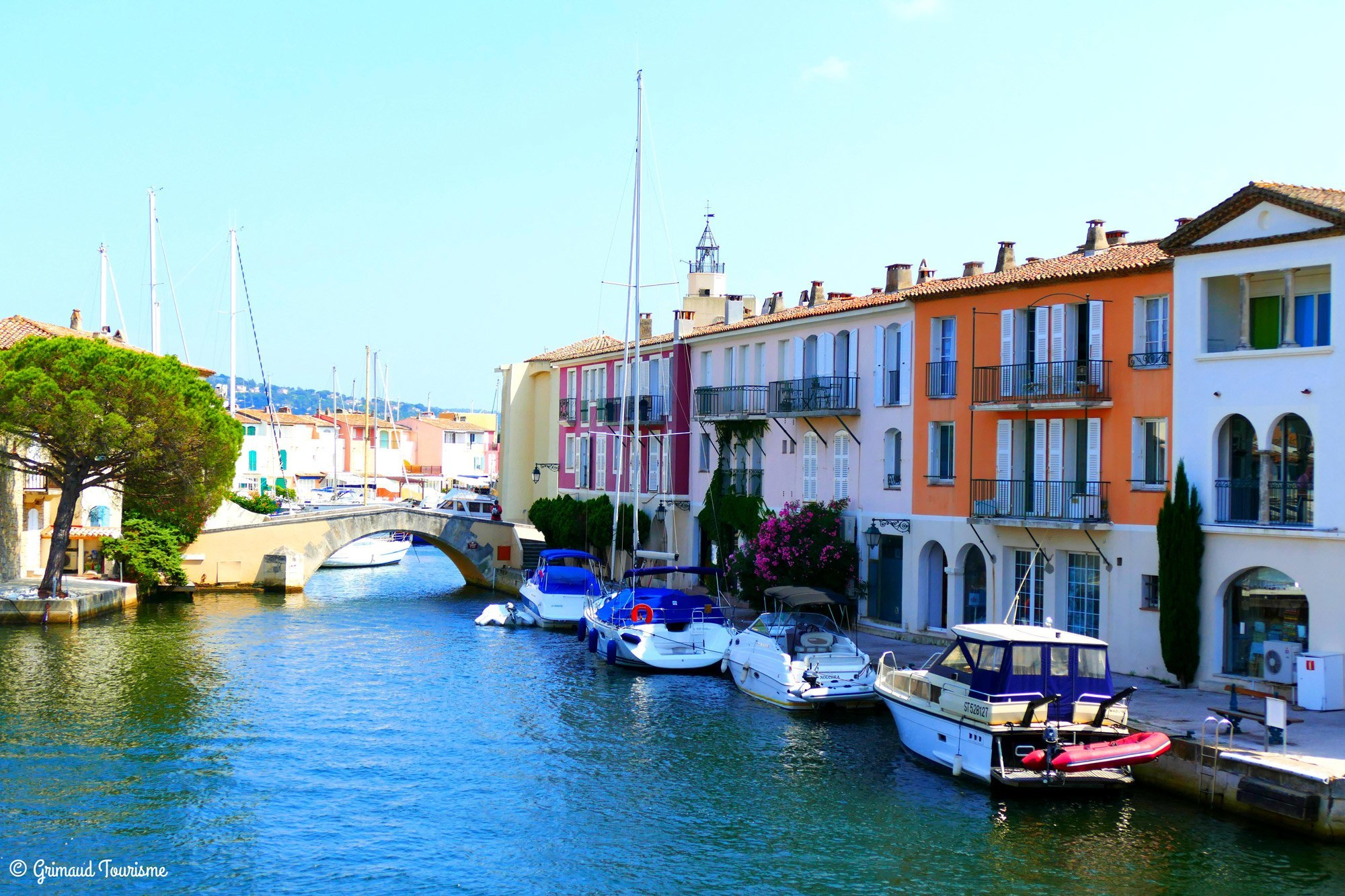Port Grimaud The Mustsee Attractions Cap Taillat Campsite - Port grimaud location