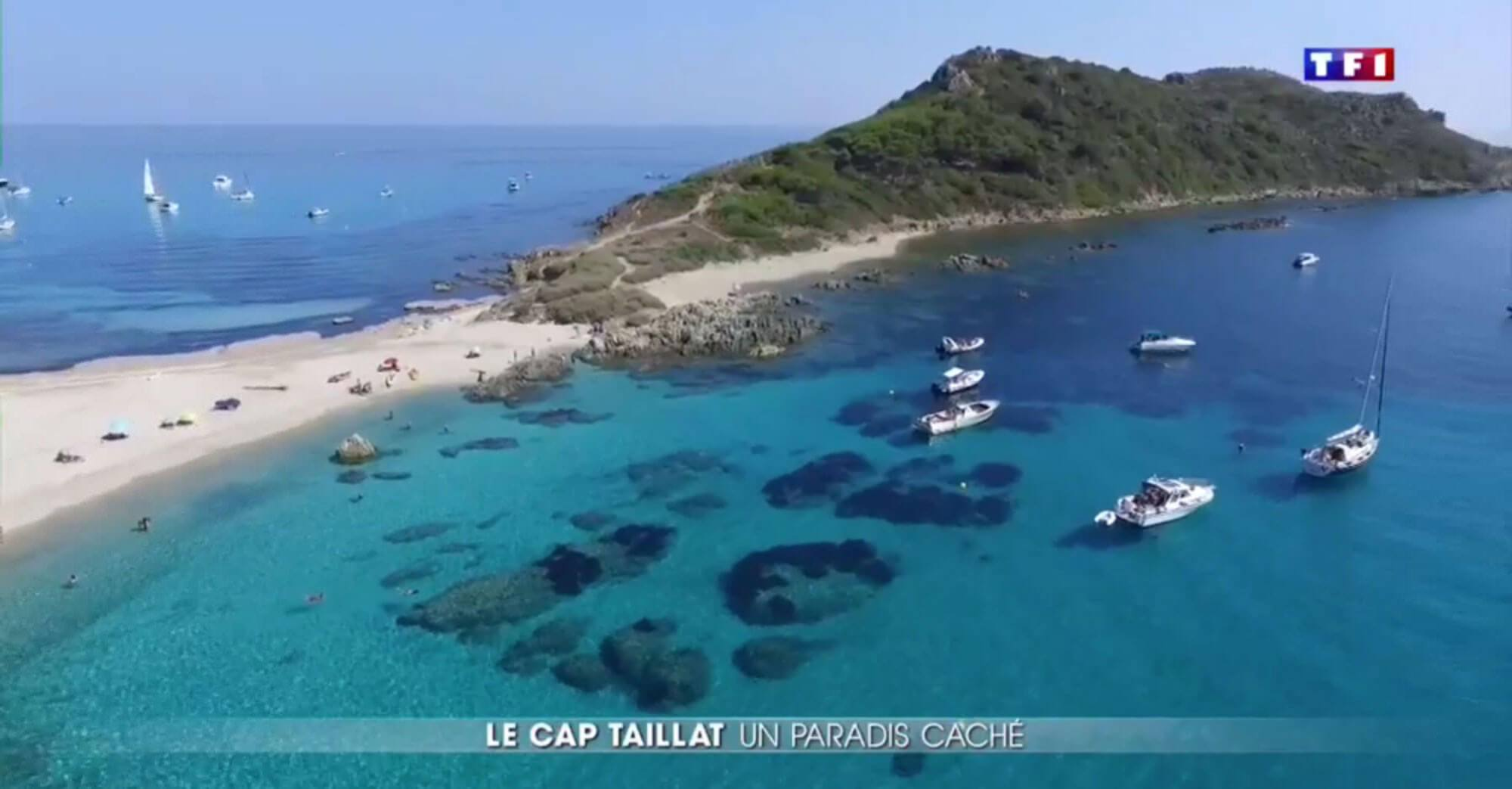 "6893c90e6ea The Cap Taillat campsite seen on national television! ""Le Cap Taillat"